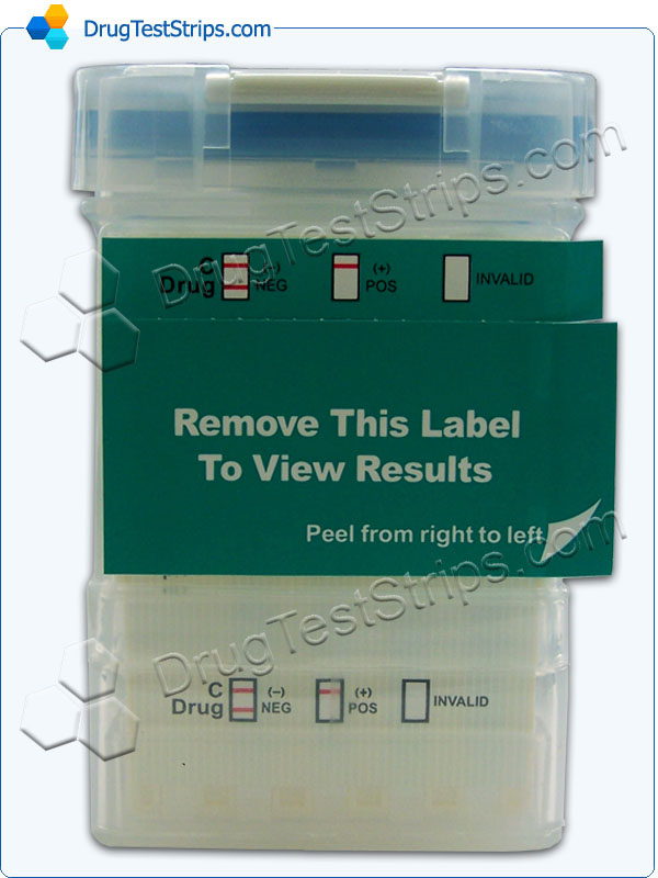 4 Panel EZ II Cup back side with label