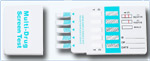 10 Panel Drug Test Card (COC/AMP/mAMP/THC/MTD/OPI/PCP/BAR/BZO/TCA)