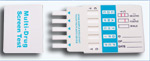 5 Panel Drug Test Card (COC/AMP/THC/OPI/PCP)